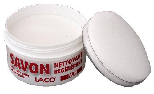 savon-nettoyant-regenerant-pour-cuir-sales-et-encrasses-250ml-avec-eponge