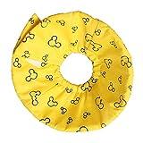 SGerste Hundehalsband, weich, für Kleine Tiere, für Hamster, Meerschweinchen, Kegelform, Gelb