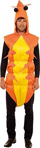 Erwachsene Halloween Kostüm unter das Meer ohne Krallen Shrimp Garnele Kostüm (Halloween Dem Kostüme Meer Unter)