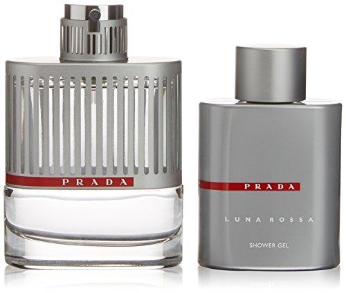 Prada Luna Rossa Geschenkset homme / men, Eau de Toilette Vaporisateur / Spray 100 ml, Duschgel 100 ml, 1er Pack (1 x 200 ml)