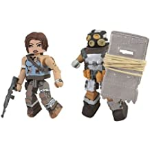 Diamond Select Toys Tomb Raider Battle Damaged Lara Croft and Armoured Scavenger Action Figure, 2-Pack by Diamond Select