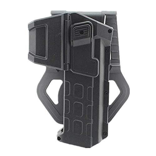 Gexgune Étuis de Pistolet tactiles Mobiles avec Lampe de Poche ou étui de Ceinture à la Ceinture monté à la Main au Laser pour Colt 1911