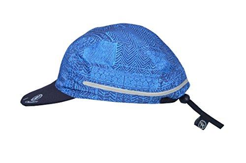 Chaskee Zuma Zip-In Cap Tribal Print Outdoorcap mit UV Schutz 80 (blau) (Glatze-mütze)