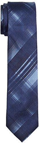 ck Calvin Klein Herren Krawatte Slim 6.4 cm, Blau (Navy 411), One size