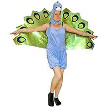 F55 M Pavo real. Disfraz. Disfraces de pavo real. Disfraz de pavo real. Carnaval Fiesta