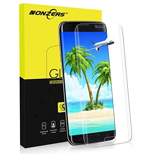 NONZERS Protector de Pantalla para Samsung Galaxy S7 edge, [1Unidades] Cristal...