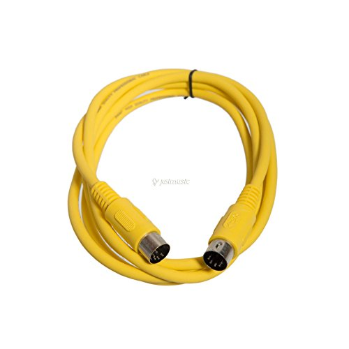 MIDI-Kabel STD 3m gelb