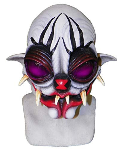 Horror-Shop Verrückte Spinnen Clown Maske (Verrückte Clown Masken)