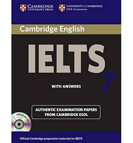 Cambridge IELTS 7 Self-study Pack (Student's Book with Answers and Audio CDs (2)) (IELTS Practice Tests)