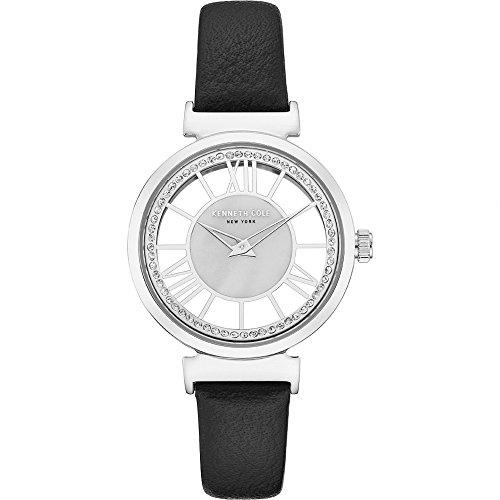 Kenneth Cole Reloj Analógico para Mujer de Cuarzo con Correa en Cuero KC50189002
