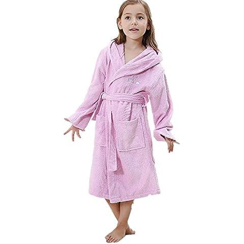LIUDOU Robe homme peignoir bambou Pulp fibre Parent-enfant peignoir de bain peignoir natation , 1# , 120/6a
