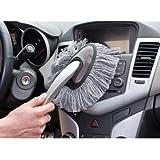 SwirlColor Duster Auto Bürste Mini Duster für Auto-Innenraum Dash und Kfz-Außen-