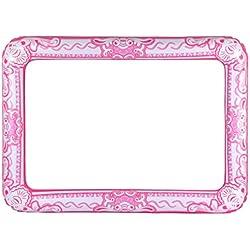 Gonfiable rosa photocall