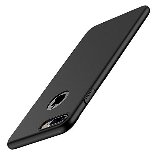 Coque Dur pour iPhone, Ultra-Slim Case Housse Protection   Étui Bumper Cover Mince Anti-Choc Léger Noir