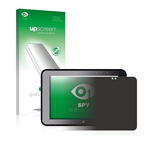 upscreen Spy Shield Clear Blickschutzfolie / Privacy für Pokini Tab A10 (Sichtschutz ab 30°, Kratzschutz, selbstklebend)