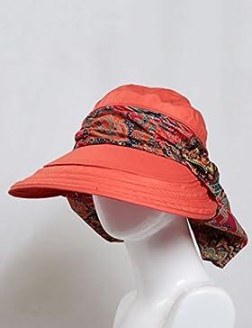 estate femminile cappello coprire all'aperto pieghevole Protezione solare Grandi gronda protezione della spiaggia...