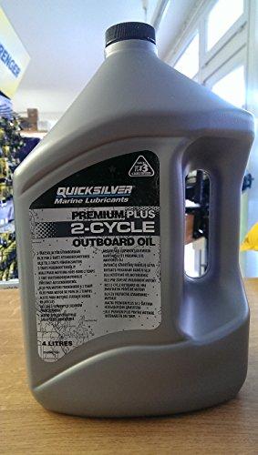 Quicksilver Zweitakt-Außenborder-Mischöl Premium Plus TCW-3, 4 Liter