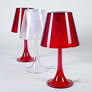 Lampe GUIO-Rouge-Unique