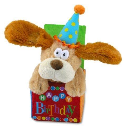 12 Flappy Birthday Animated Plush Puppy Dog Singing Happy By Mills Cuddle