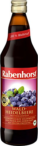 Rabenhorst - Bio Wald-Heidelbeere Direktsaft - 700ml