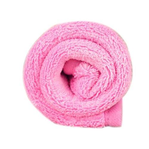 bescita Haustier-Hundewelpen-Katzen-Matten-weiche Vlies-Decke-Bettbezug-Kissen-Auflage (Rosa) (Rosa Voile-kleid)