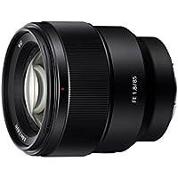 Sony Sel85F1885mm f/1.8–22Medium-telephoto fixe Prime, lentille Noir
