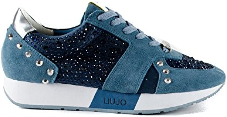 Liu Jo Sneaker mujer Running Aura Suede Plombe (Avion)