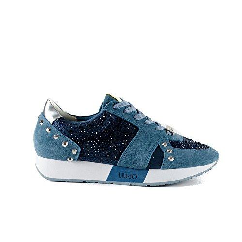 Chaussures de course Luijo AURA T0380 S16195 BLEU Bleu