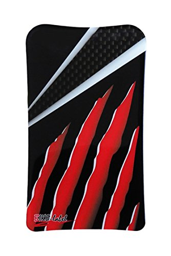 Tankpad 3D 502100-VA Carbon Stripes Red Tank-Schutz Passend für Honda CRF 1000L Africa Twin - Honda Protektor Tank