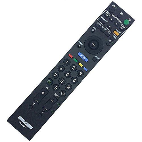 Allimity Nouveau remplacer télécommande RM-ED011Fit pour Sony Kdl-32e4020KDL-52W4500KDL-26E4020Kdl-26e4050Kdl32e4030KDL-32E4030Kdl-26e4000Kdl-40e4030Kdl-32e4050Kdl-26e4030Kdl-40e4000TV