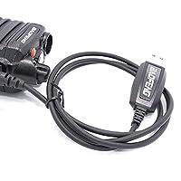 sycamorie Cable Waterproof Cord for Baofeng 8W/15W UV-9R PLUS A58 Walkie Talkie Walkie Talkie USB Programming