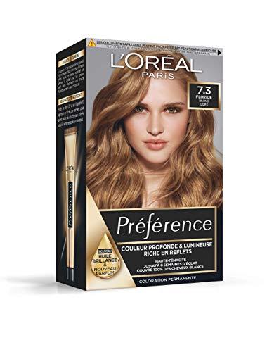 L'Oréal Paris Préférence Coloration Permanente 7.3 Floride Blond Doré