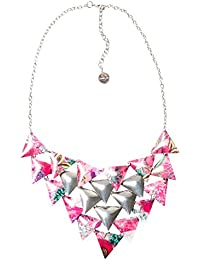 Desigual - Collier court - Plaqué argent - Global Traveller - 44 cm - 71G9EJ43047U