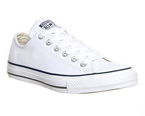 Converse  Dainty Leath Ox, Sneakers Basses femme Blanc (White)