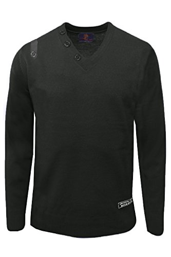 Maluaceae - Pull - Pull - Homme gris gris Small Noir