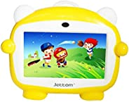 JETTOM J1 Kids Tablet 7-inch IPS LCD 4GB ROM 512MB RAM 2G Dual Camera Yellow Color