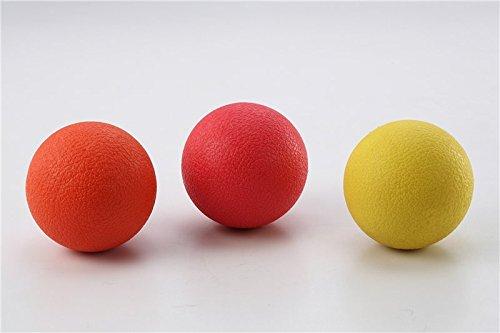 ssage Ball Set mit 3verschiedenen dichten für Yoga, Pilates & Trigger Point Release ()