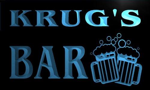 cartel-luminoso-w004174-b-krug-name-home-bar-pub-beer-mugs-cheers-neon-light-sign