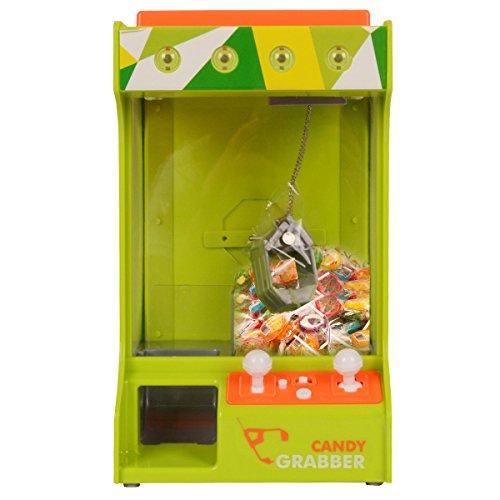 Candy Grabber Máquina Garra Ajustes Volumen Música