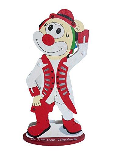 LED Lampe Clown ~ Die Schmitzens Tanz Major ~ Dekofigur Karneval Tanzoffizier