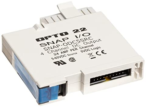 Opto 22 SNAP-ODC5SRC - SNAP Digital (Discrete) Output Module, Load Sourcing, 4-Channel, 5-60 VDC