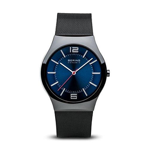BERING Herren-Armbanduhr Analog Quarz Edelstahl 32039-447