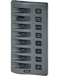 Blue Sea 4309 WeatherDeck® 12V DC Waterproof Switch Panel - 8 Position