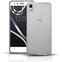 Funda Gel Lisa TRANSPARENTE para BQ AQUARIS E5S LITE - ESSENTIAL
