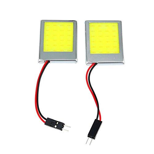 Japace® 2 PC12V 9W/ LED 8000K LED Luz lámpara de trabajo luces bombillas e indicadores iluminación luz de lectura para luces de lectura, luces de la matrícula, luces de puerta, luces