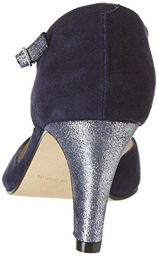 Studio Paloma18841 - Scarpe col tacco Donna Blu (Bleu (Ante Marino Puffe 1471))