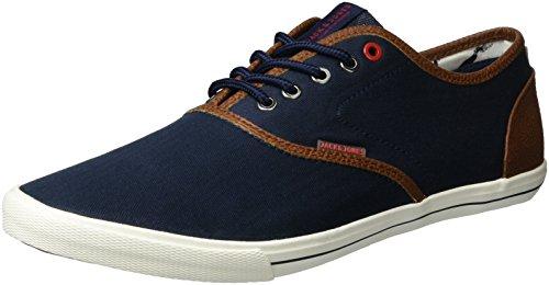jack-jones-mens-jfwspider-herringbone-mix-low-top-sneakers-blue-navy-blazer-9-uk