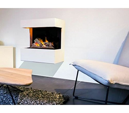 Chimenea-elctrica-mural-Rubyfires-Nova-compuesta-por-quemador-elctrico-MF1640C-Vapor-de-agua-y-marco-Udine-en-MDF-Blanco-Crema-para-pintar-a-voluntad