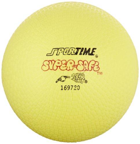 Sportime super-safe Gummi Spielplatz Ball-25,4cm-Gelb - Spielplatz Bälle