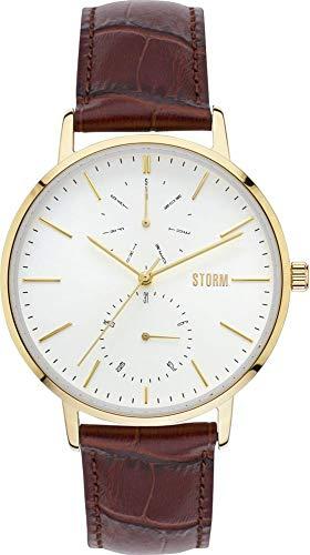 Storm London Denston 47307/GD Reloj de Pulsera para hombres Momento Estelar de Diseño